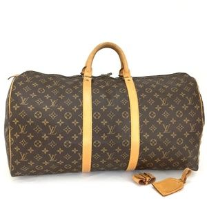 Auth Louis Vuitton Keepall 55 Travel Bag 230L5460